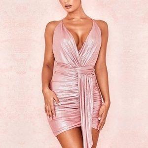 New Bodycon Deep V Backless Spaghetti Strap Dress